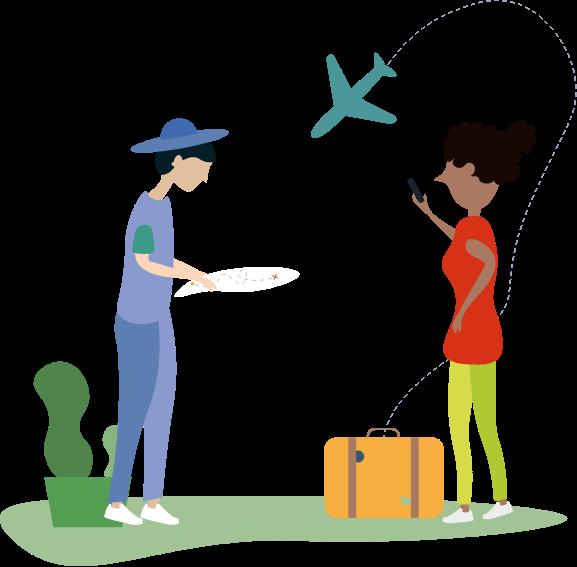 Gymnasium studerende illustration